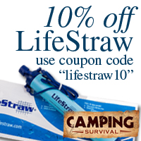 Code PREPPERRECON for 5% off everything at CampingSurvival.com