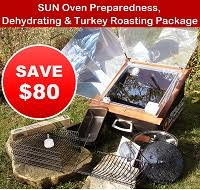 Thanksgiving Special! $80 Off Sun Oven!